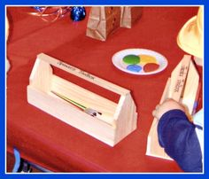 BTB Craft Toolbox Great 3 Year Old Birthday Party Idea: A Bob the Builder Party!