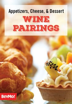 Based on these helpful Wine Pairings for Appetizers, Cheeses, Desserts, and more, planning your next dinner party couldn't be easier—or more delicious! And with BevMo!'s wide variety of reds and whites, the menu possibilities are endless!