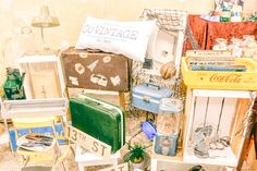 Go Vintage, one of our exhibitors Vintage Market, Gift Wrapping, Gifts, Vintage Marketplace, Gift Wrapping Paper, Presents, Wrapping Gifts, Favors, Gift Packaging