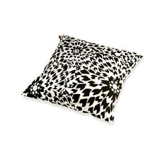 Bring bold pattern to your bed, sofa, or chaise with the Dalia Cushion by Missoni Home, featuring a runway-ready floral motif and plush, comfortable fill.Product: Cushion Construction Material: Acrylic Color: Black and white Dimensions: W x D Modern Throw Pillows, Decorative Throw Pillows, Bed Pillows, Bed Sofa, French Provincial Bed, Black And White Cushions, Black Curtains, Acrylic Colors, Joss And Main