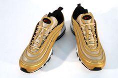 Nike – Air Max 97 LE | Metallic Gold/Varsity Red-Black