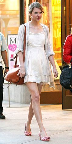 Taylor Swift, can I steal some of your pretty dresses?