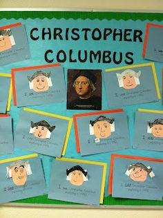 Columbus Bulletin Board!  Kinder Learning Garden Blog