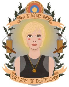 Awesome Illustrations of Pop Cultures Best Female Characters as Saints
