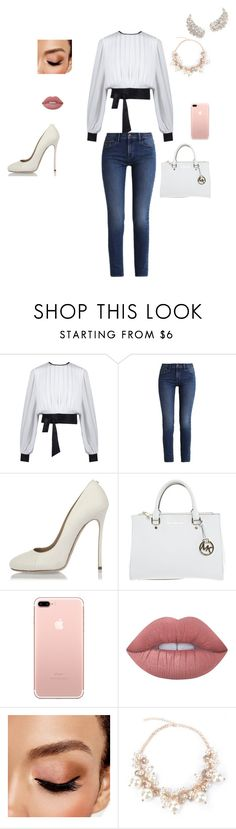 """Cute"" by zaroo101 ❤ liked on Polyvore featuring Calvin Klein, Dsquared2, Michael Kors, Lime Crime and Avon"