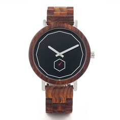 Type: Wristwatches Gender: Men Movement: Quartz Case Shape: Round Clasp Type: Bracelet Clasp Case Material: Wood Band's Material: Wood Dial Window Material: Wooden Watches For Men, Wooden Case, Picture On Wood, Guy Pictures, Stainless Steel Watch, Quartz Watch, Wood Watch, Fashion Watches