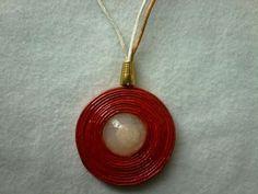 Medallon en cesteria