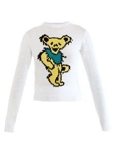 Bear-print sweater | J W Anderson | MATCHESFASHION.COM