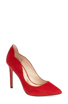 These Jessica Simpson pumps are red hot.