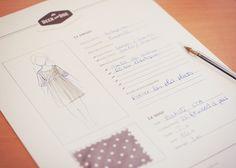 Deer and Doe : Fiche à imprimer pour préparer ses projets couture