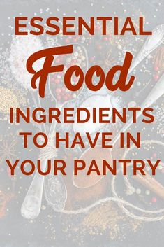 A comprehensive list of food ingredients that are staples for any pantry Includ A comprehensive list of food ingredients that are staples for any pantry Including oils flours whole grains 038 legumes among others Maintaining a well stocked kitchen f Kitchen Items List, Kitchen Essentials List, Kitchen Tools And Gadgets, Cooking Gadgets, Cooking Tools, Kitchen Ideas, Kitchen Decor, Kitchen Design, Grocery Checklist