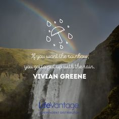 Like rain that brings us rainbows, NRF cutting-edge products will turn on every faucet in your body to reduce oxidative stress at a rate of ONE MILLION free radicals per second and encourage healthy mitochondria to flourish.  Bringing a rainbow of healthful living to you and those you love.  Learn more.  #cellularprotectionrevolution. NRF Evolution, LLC http://NRFEvolution.LifeVantage.com