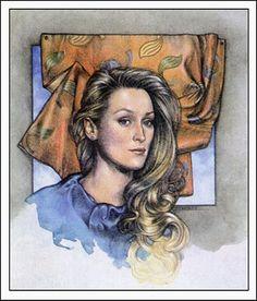 Meryl Streep by George Stavrinos