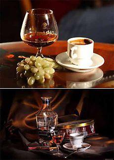 Кофе с коньяком и популярные рецепты его приготовления | Все о кофе