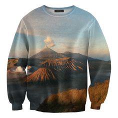 is this Mt. Bromo?? Mr. GUGU - Vulcano Sweater