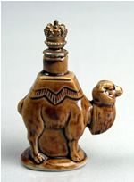 German Figural Perfume Bottle