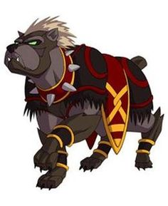 Bulreguard continues the standard of dogs being man's best friend even into the world of Titans and Seekers. Unlike most Titans, who simply perform their roles in battle, Bulreguard Titans are often invoked to accompany their Seekers throughout an adventure, keeping the morale of a team high and using their enhanced senses to keep everyone on the right path.