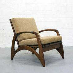 Lounge Chair by Unknown Designer for De Ster Gelderland