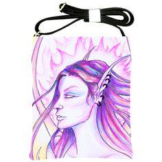 """What Dreams May Come"" Shoulder Sling Bag via ArtsNow.com"