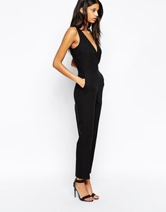 ASOS Jumpsuit with Chic Wrap