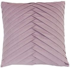 Co Jimco Lamp & Manufacturing James Pleated Velvet Pillow Purple Throw Pillows, Velvet Pillows, Modern Pillows, Decorative Pillows, Fairy Bedroom, Pillows Online, Pillow Arrangement, Subtle Textures, Fabric Manipulation