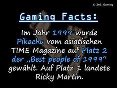 """Im Jahr 1999 wurde Pikachu vom asiatischen TIME Magazine auf Platz 2 der """"Best people of 1999"""" gewählt. Auf Platz 1 landete Ricky Martin."""