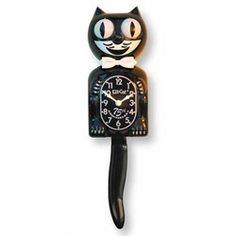 Kit-Cat Clock in Black - I need a new one of these!