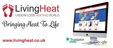 Living Heat are the UK's leading supplier of electric underfloor heating. Electric Underfloor Heating, Underfloor Heating Systems, Life