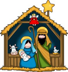the nativity children free clip art - Google Search