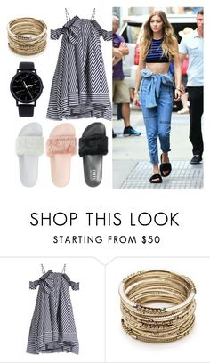 """Untitled #48"" by bettina-agoston on Polyvore featuring MSGM and Sole Society"