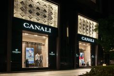 The #Canali #boutique in the Westgate Mall in #Shanghai. 梅龙镇广场 | Westgate Mall in 上海, 上海. #store #boutique #madeinitaly #china #asia #shopping #mensfashion #menswear