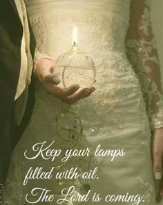 A bride plans every single detail of her wedding even down to the font of the wedding invitations. Be ready for the Bridegroom is coming!