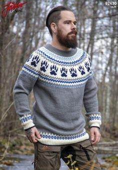 'O-Six' - genser med mønsterstrikket bærestykke Boys Sweaters, Warm Sweaters, Sweaters For Women, Raglan Pullover, Sweatshirt, Loose Sweater, Men Sweater, Ravelry, How To Start Knitting