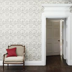 Zoffany - Luxury Fabric and Wallpaper Design | Products | British/UK Fabric and Wallpapers | Facade (ZINW310081) | Intaglio Wallpapers