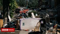 The flood that drowned American dreams - BBC News