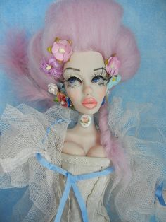 Custom Posable Art Doll by Moninesfaeries by moninesfaeries