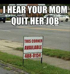 Hahahahhaa. That's hilarious.