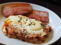 Huevos en cacerola / eggs and hashbrown casserole