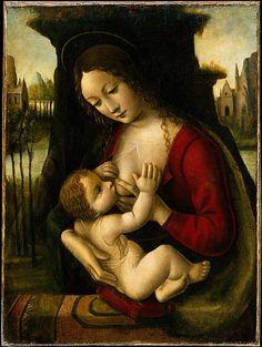 Madonna and Child, Bernardino dei Conti, Italian, Milan  (1496-1522). The Metropolitan Museum of Art
