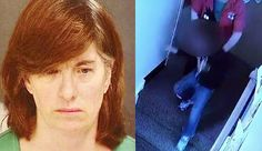 Day Care Worker Shoves 4-Year-Old Down Flight of Steps Because She Felt Like It