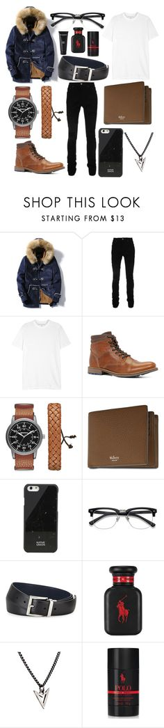 """Casual Day Out!😎"" by nanamochi ❤ liked on Polyvore featuring AMIRI, Neil Barrett, ALDO, Arizona, Mulberry, Native Union, Prada, Ralph Lauren, Brianna Lamar and Bad Norwegian"