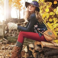 barbour clothing photo shoot  ideas | ... are some fun and inspiring beauty ideas to keep you busy this autumn