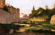 Odoardo Borrani - The Macchiaioli didn't follow Monet's practice of finishing large works en plein air, rather using small outdoor sketches for a larger studio work.