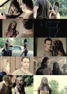 Rick & Michonne