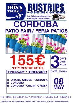 Tour a Córdoba  Al mejor precio con transporte incluido!!! www.viajesrosatours.com info@viajesrosatours.com (+34)966717783  (+34)675956059