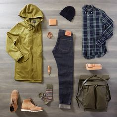 """The """"Georgie"""" look. Mens Fashion 2018, Stylish Mens Fashion, Mens Boots Fashion, Sneakers Fashion, Men's Fashion, Fashion Ideas, Outfit Grid, My Outfit, Moda Masculina"""