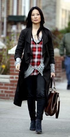 Tv Fashion Inspiration Joan Watson Lucy Liu On