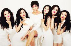 the Kardashian ladies!