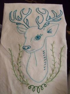 embroidery pattern-I want this to be my next project
