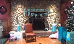Baby & Co. Banner, Blocks & Tiffany's boxes!